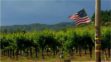 How the US-China trade war squeezes California's wine country