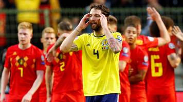 belgium 3-0 scotland: what can we learn from brussels defeat?