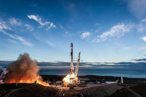 Watch SpaceX launch and land its Falcon 9 rocket on the California coast