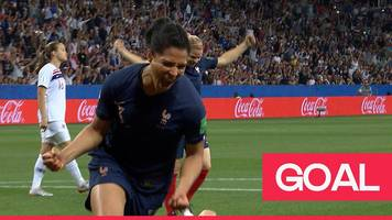 women's world cup 2019: valerie gauvin gives france the lead against norway