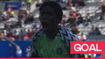 Women's World Cup: Asisat Oshoala doubles Nigeria's lead with 'brilliant counter-attacking goal'