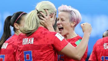 Fifa Women's World Cup: USA make strongest claim to throne with 13-0 win over Thailand