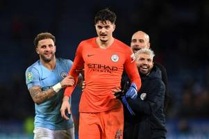 pep guardiola 'will let manchester city goalkeeper arijanet muric leave on loan' amid nottingham forest rumours