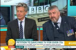 Exeter MP Ben Bradshaw opposes BBC licence fee on Good Morning Britain
