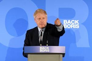 Boris Johnson issues and Brexit and Corbyn warning as he launches PM bid