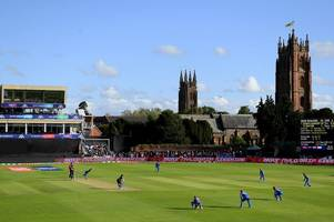australia vs pakistan weather forecast for cricket world cup at taunton's county ground
