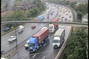 Live M25 Dartford Crossing traffic updates as 'bad weather' causes eight miles of queues