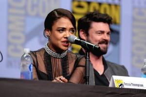 Tessa Thompson pitched 'Humans in Black'