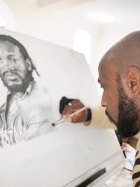 World Cup 2019: How Michael Carberry fought stomach cancer to become sketch artist