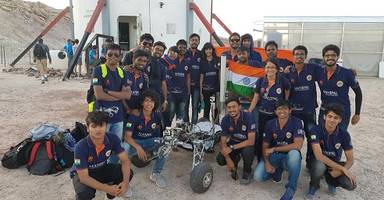 mars rover mit excel at world meet in us