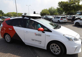 yandex's self-driving car hits the streets of tel aviv