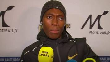 caster semenya: olympic 800m champion says she won't take take drugs to compete