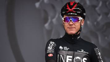 froome not in great shape after high-speed crash - brailsford