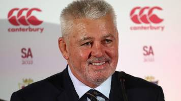 gatland rules out future england job after being confirmed as lions coach