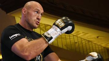 joshua is finished in boxing, says fury