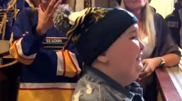 Blues Will Bring Superfan Laila Anderson to Boston for Game 7