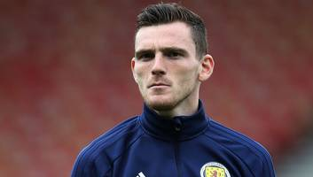 steve clarke gives injury update on andy robertson after defender misses scotland's 3-0 belgium loss