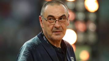maurizio sarri: chelsea agree deal for manager to join juventus