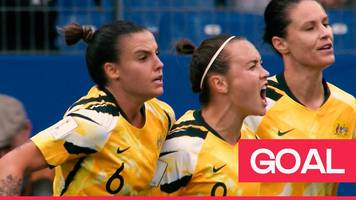 women's world cup 2019: australia's caitlin foord halves the deficit just before half time
