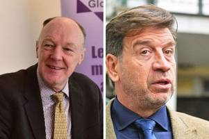 Gloucestershire's police and crime commissioner accused of breaking the law by posing for photo with DIY SOS presenter Nick Knowles