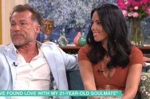 coronation street star chris quinten, 61, stuns this morning by getting engaged to 21-year-old
