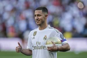 hazard determined to deliver trophies after completing real madrid move