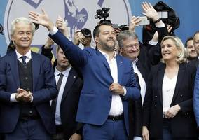 meps create biggest far-right group in european parliament