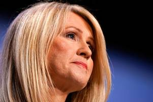 esther mcvey booted out of tory leadership race in first round of voting