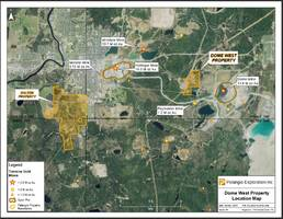 pelangio exploration intersects new gold zone on dome west property, timmins ontario