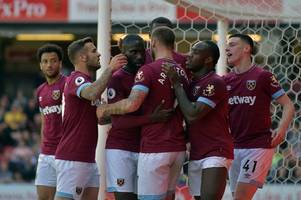 west ham have the easiest start to the premier league season - even with man city on opening day