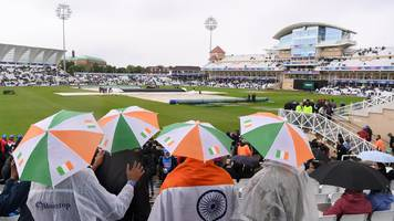 india & new zealand frustrated by weather at cricket world cup