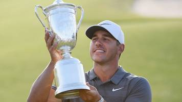 koepka grouped with molinari as american seeks third straight us open - tee times & preview