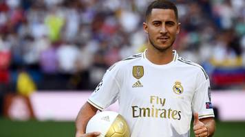 'i'm not a galactico, but i'll try to be' - hazard presented at real madrid
