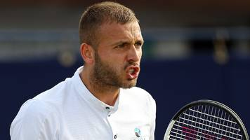 dan evans beats mikael ymer to advance in nottingham