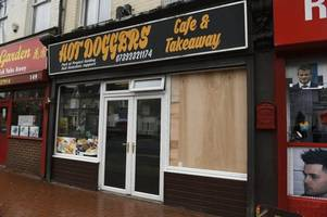 police officers' selfless response as vandals hit homeless charity café