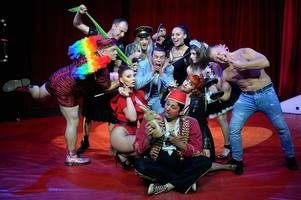 we went behind the scenes at the x-rated circus strictly for adults that is coming to gloucester for one night only