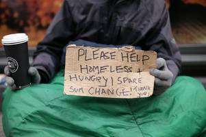 many beggars in solihull are 'not homeless'