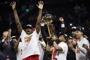 nba: toronto raptors beat golden state to clinch their first ever nba championship