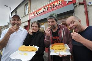 ayr chip shop hands out free suppers to the homeless