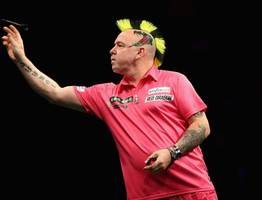west lothian born darts ace peter wright helps guide scotland to world cup glory