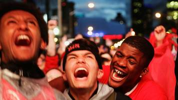 toronto raptors: basketball fever sweeps canada after team's historic win