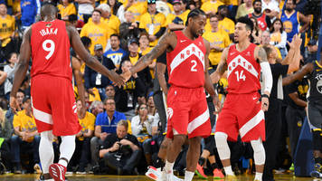 raptors defeat warriors in game 6, win first championship in franchise history