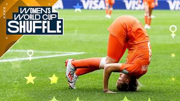 women's world cup 2019: amazing acrobatics, water fights & all the goals