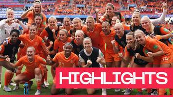 women's world cup 2019: netherlands beat cameroon in the second game of group e