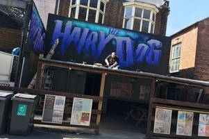 three-day hairy dog and dubrek music festival for street pastors and homeless