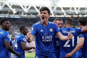 Circling Manchester United and Manchester City are indicator of Leicester City's huge promise
