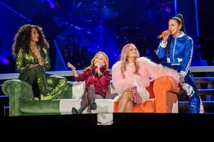 Holly Willoughby enjoys Prosecco and dancing at Spice Girls concert