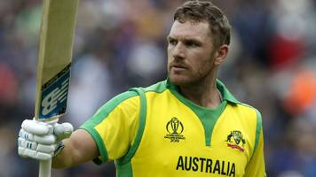 Finch's 153 leads Australia to victory over Sri Lanka and to top of World Cup table