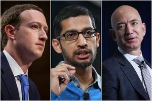 this chart shows just how much facebook, google, and amazon dominate the digital economy (fb, goog, amzn)