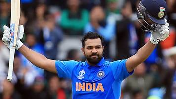 Rohit's 140 helps India thrash Pakistan in World Cup